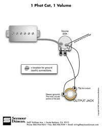 guitar wiring diagrams 1 pickup gooddy org