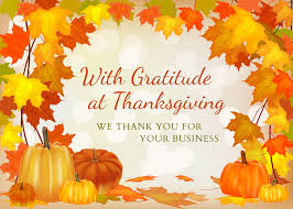 happy thanksgiving business message festival collections