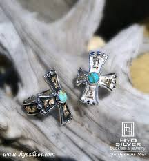 cross rings silver images Western turquoise cross ring sterling silver hyo silver jpg