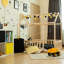 wood bed bed house house bed children bed toddler bed