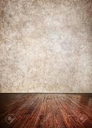 Textured Wall Background Wooden Textured Floor And Grunge Brown Wall Background Can Be