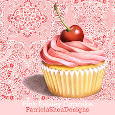 Best 25 Pink Bathrooms Ideas by Beautiful Pink Cupcake Paisley Illustration Shower Curtain