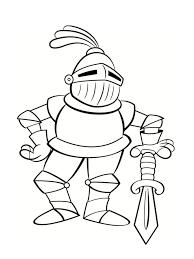 coloriage chevalier 20 dessins à imprimer gratuitement