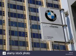 bmw dealership auto atlantic bmw dealer sign cape town south africa stock photo