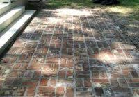 Cost Of Brick Patio Brick Patio Cost Beautiful Backyards Charming View In Gallery