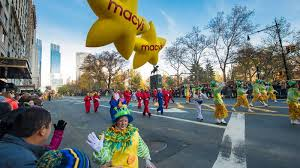 thanksgiving day parade 2016 route map and lineup