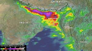 Map Of India And Nepal by Bangladesh U0027s Heavy Rainfall Examined With Nasa U0027s Imerg Nasa