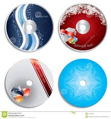 cd u0026 dvd label christmas designs royalty free stock photo image