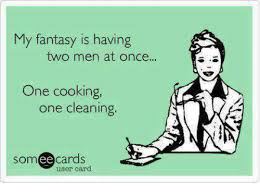 Men Cooking Meme - my fantasy is having two men at once one cooking one cleaning ee