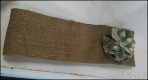 Designer Tie Backs For Curtains Burlap Tiebacks With Interchangeable Flowers Beneath My Heart