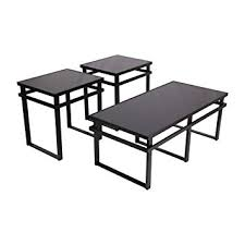 Ashley End Tables And Coffee Table Amazon Com Ashley Furniture Signature Design Laney Glass Top