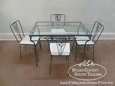 wrought iron dining sets ebay