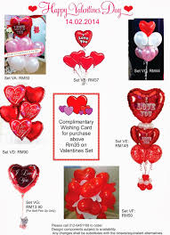 valentines balloon delivery something special to you malaysia wedding one stop shop