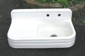 Porcelain Kitchen Sink  Fitboosterme - Kitchen sink refinishing