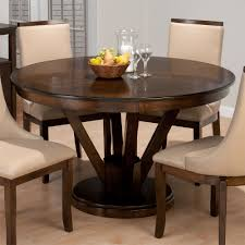 Simple Dining Table Designs In Wood And Glass Round Glass Pedestal Dining Table Starrkingschool Inside Design