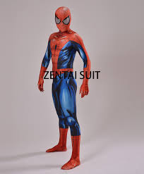Halloween Spiderman Costume Suit Canvas Picture Detailed Picture Ultimate