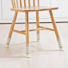 table leg floor protectors 4pcs chair leg socks home furniture leg floor protectors non slip