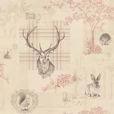 richmond stag wallpaper by holden decor 98010 wall paper