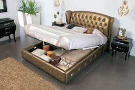 King Size Leather Bed Frame Lift Up Storage Bed King Size Lift Storage Bed King Size Modern