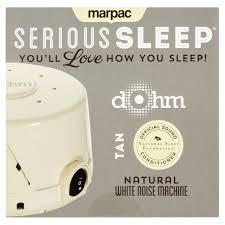 White Noise Machine For Bedroom Marpac Serious Sleep Tan Natural Dohm White Noise Machine
