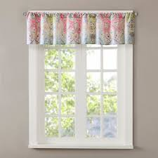 Multi Colored Curtains Buy Multi Colored Bathroom Window Curtains From Bed Bath U0026 Beyond