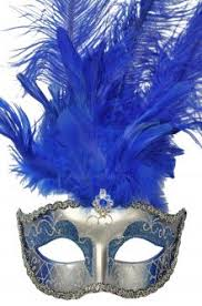 blue mardi gras mardi gras masks purecostumes