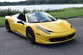 ferrari yellow 458 2012 ferrari 458 italia stock 6622 for sale near great neck ny