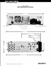 sony xr ca330 fm am cassette car stereo