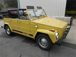 volkswagen thing 1973 volkswagen thing for sale classiccars com cc 968631