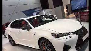 white lexus 2016 ultra white lexus gs f on display at barcelona auto show