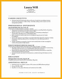objective for hotel industry resume