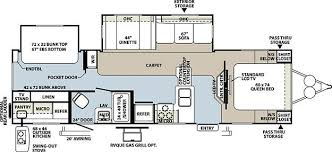 Rockwood Trailers Floor Plans 2011 Forest River Rockwood 8312ss Travel Trailer Riceville Ia