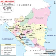 grenada location on world map where is nicaragua location of nicaragua