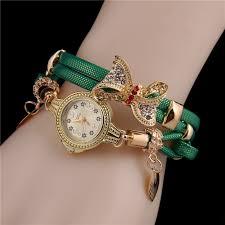 quartz bracelet wrist watches images Retro women watch bracelet butterfly quartz wrist watch rhinestone jpg