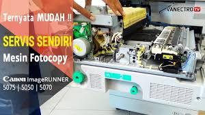 Mesin Fotokopi Rusak ganti biar gak error roll pemanas mesin fotocopy canon