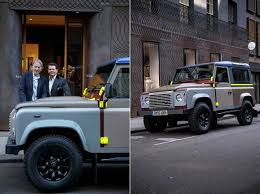 land rover defender 2020 paul smith designs one off land rover defender pursuitist in