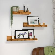 living room wall shelves floating shelves hanging shelves you ll love wayfair