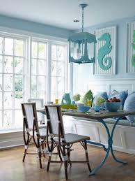 coastal dining room sets beach house table vintage wood backrest