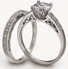 platinum wedding ring sets for him and her model