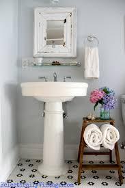 Ladder Shelf For Bathroom 18 Bathroom Diy Storage Ideas Modern Mavens