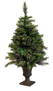 potted christmas tree vickerman pre lit battery operated potted