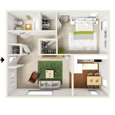 1 bedroom open layout apartments presidential estates