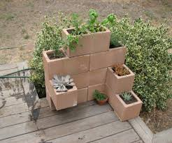 cinder block planter 5 steps with pictures