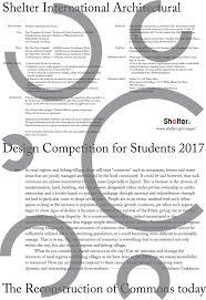 student competitions archdaily