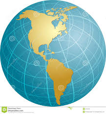 the americas map map of the americas stock photos image 6012403