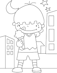 animations a 2 z coloring pages of ice cream