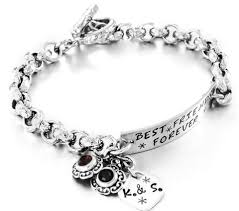 jewelry personalized handmade charm bracelets with quotes photos or images