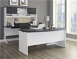 ameriwood furniture pursuit u configuration bundle desk bridge