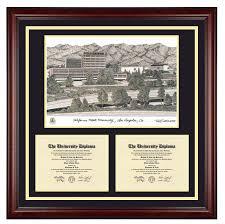 clemson diploma frame california state los angeles csula cal state la