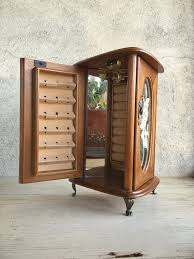 jewelry box necklace organizer images Armoire jewelry box tabletop jewelry cabinet miniature furniture jpg